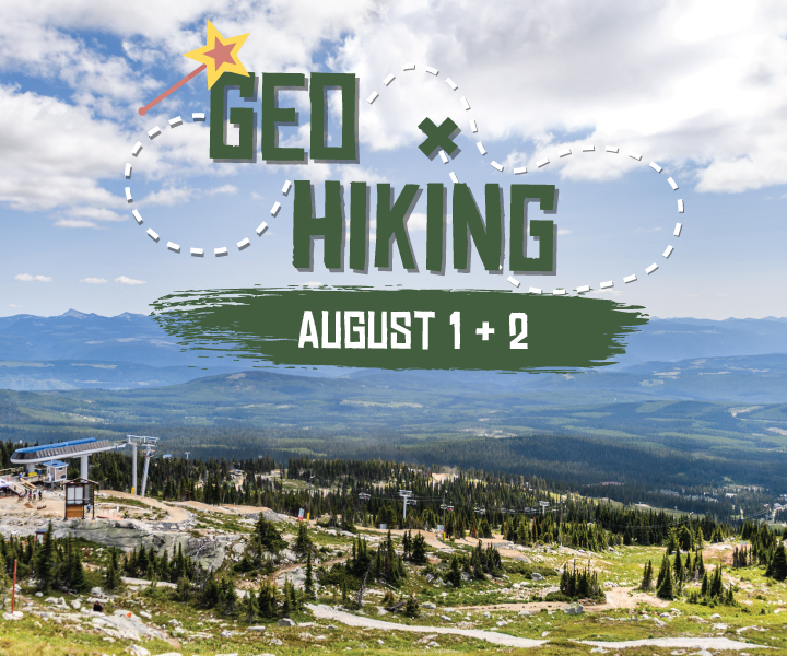Geo hiking at Big White