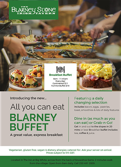 Blarney Breakfast buffet