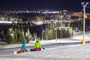 Free Night Skiing