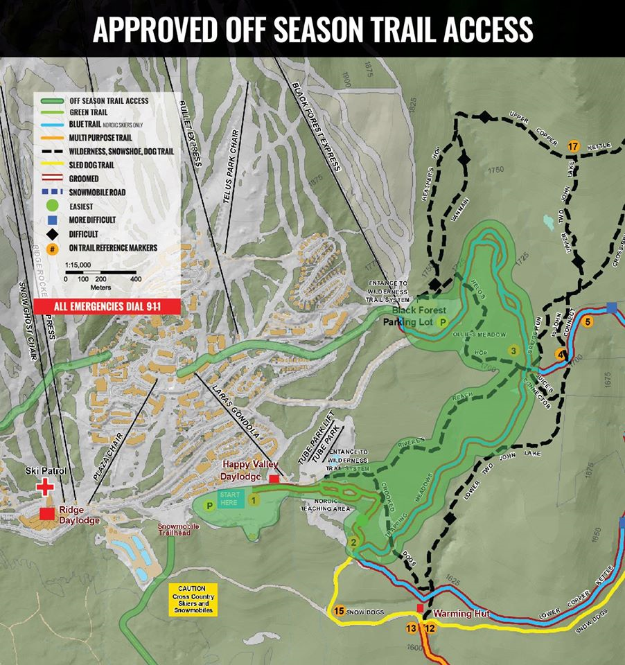 Offseason Trail Access