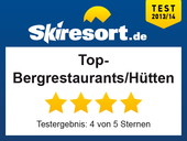 Top-Bergrestaurants/Hütten/Gastronomie