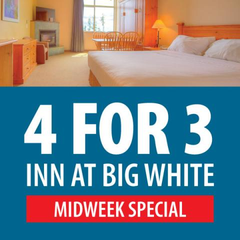 Inn At Big White Midweek Special