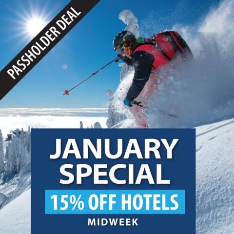 Passholder January Hotel Deal