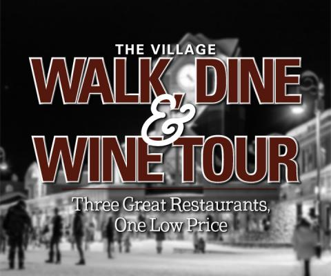 Walk, Dine and Wine Tour