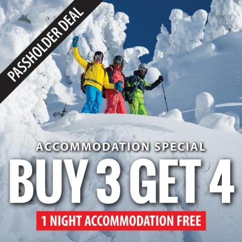 Inn at Big White 4 for 3 Special
